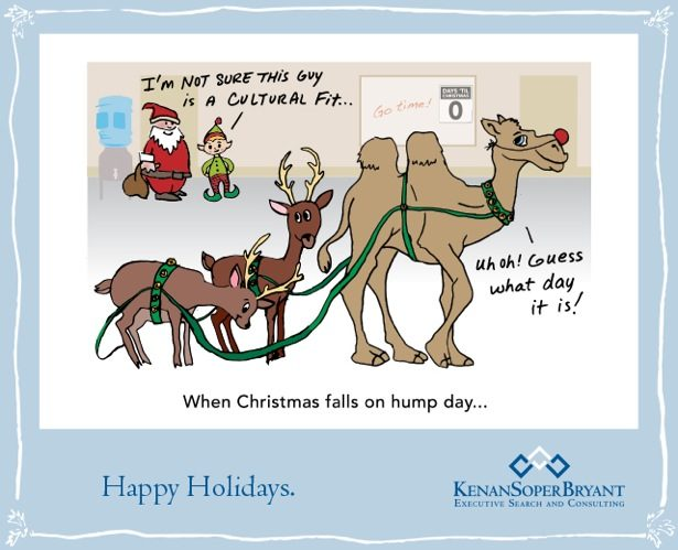When Christmas falls on a hump day…