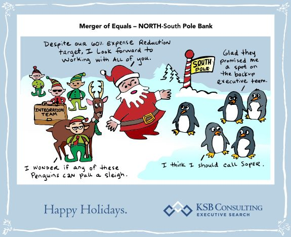 Merger of Equals: NORTH - South Pole Bank
